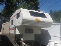 For sale 1982 1/4 ton truck camper