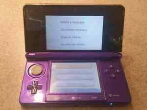 Nintendo DSi and 3Ds + 9 games and a case