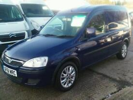 Vauxhall Combo 2000 SE CDTi DIESEL MANUAL 2011/61