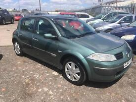 2004/54 Renault Megane 1.4 16v 98 Dynamique FULL MOT EXCELLENT RUNNER