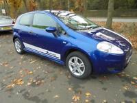 2007 Fiat Grande Punto 1.2 Active in Blue