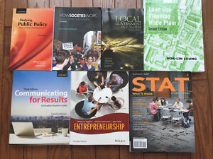 TEXTBOOKS FOR SALE-RYERSON