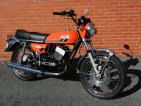 YAMAHA RD350 1974 347cc MOT'd JULY 2017