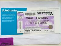 Creamfields festival ticket