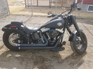 Harley Davidson FLS Softail Slim 2012