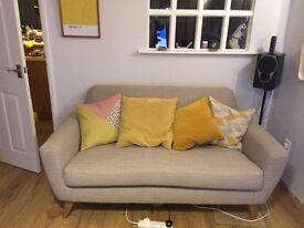 Mid century style Capri sofa