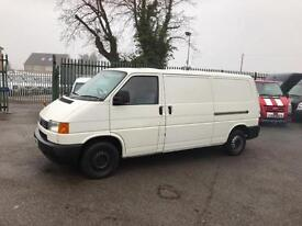 VOLKSWAGEN TRANSPORTER 1200 LWB 2.5TDI 87 with air con NO VAT, White, Manual, Di
