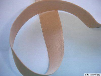 10m Gummiband 0,30€/m beige 22mm breit MB110