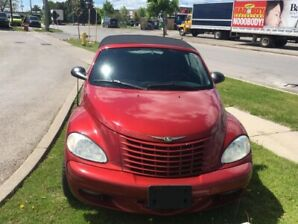 2005 Chrysler PT Cruiser CLEAN CONVERTABLE/LOW KM/PERFECT SUMMER CAR
