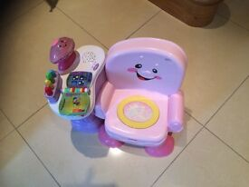 Fisherprice musical chair
