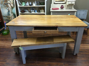 COUNTRY HARVEST TABLE - PINE GORGEOUS!!!!