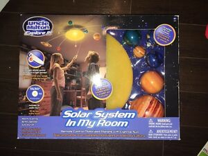 Solar system room light