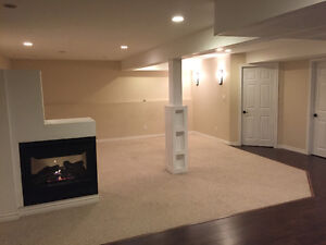 Full Basement and Bedroom for rent/ house share