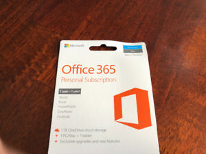 Office 365 - Personal 1 year Subscription