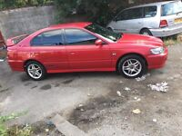 Red Honda Accord sport