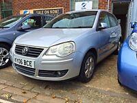 2006 (06) Volkswagen Polo 1.2 petrol - MOT 07/17! Full service history & 3 months FREE warranty!