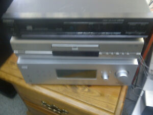 sony a/v receiver with surround sound speakers