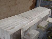 "23 x 15"" dwarf kerbs for garden, house, patio, with concrete, cement, stone, brick"