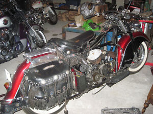 Antique Original Indian Chief Roadmaster Restored