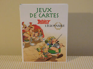 French Asterix Card Games-Brand New
