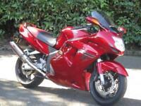 HONDA CBR1100 SUPERBLACKBIRD XX, 1998/S, 27,154 MILES