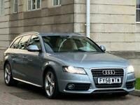 Audi A4 Avant 2.0 TDI S line 5dr (W.MILEAGE+2KEYS +LEATHER )