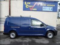 Volkswagen Caddy C20 Tdi Startline MAXI BLUE TWIN DOORS