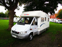 CI Cipro 55 four berth motorhome with automatic gearbox