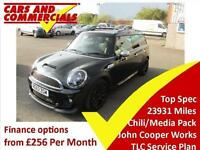2013 MINI CLUBMAN 1.6 John Cooper Works Automatic Media Chili Pack