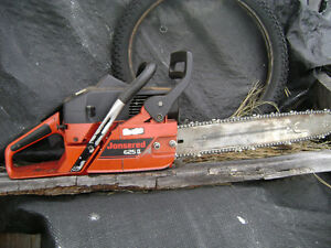 Jonsered 625 chainsaw  chain saw