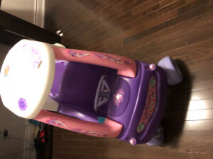 Little tikes ride princess cozy coupe on car