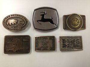 Variety of Belt Buckles