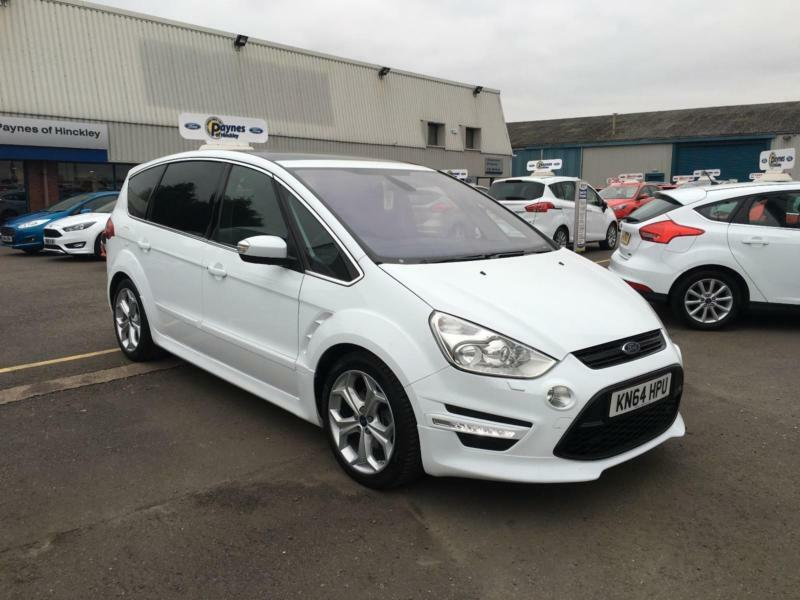 ford s max 2 2tdci 200ps titanium x sport in frozen white onsite in hinckley leicestershire. Black Bedroom Furniture Sets. Home Design Ideas