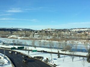FREE one month - Downtown with River Valley and Mountain Views