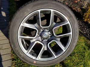 """RAM 1500 LARAMIE 22"""" TAKE OFFS WHLS & GY EAGLE TIRES TPMS. DEAL"""