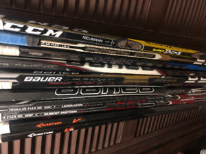 Bauer, Easton, CCM Hockey Sticks