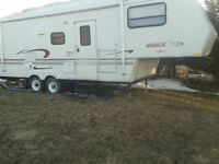 Fifth Wheel Trailer With Hitch