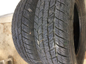 For sale 205/75r15 m+s winter tires