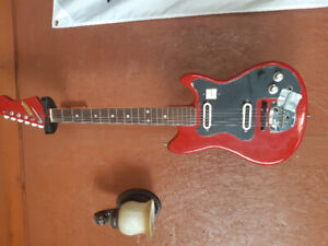 Vintage Canora electric guitar