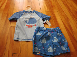 Size 12-18 mth Swim Wear, NEW