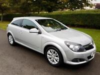 VAUXHALL ASTRA 1.6i (16v) SRi SPORT HATCH - 3 DOOR - 2011 - SLIVER **FACE LIFT**
