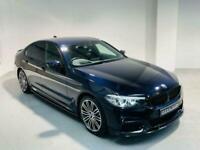 BMW 5 SERIES 2.0 530E M SPORT 4 DOOR BLACK HYBRID 2019 ULEZ OK PETROL AUTO
