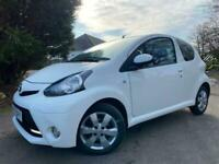 SOLD,13 TOYOTA AYGO 1.0 VVT-I Fire 3dr (AC)62,000 MILES FULL SERVICE HISTORY