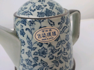 Made in Japan High quality Flower Teapot with strainer