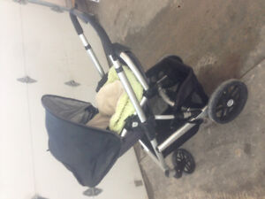 Uppa baby 2011-2012 stroller with accessories