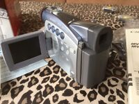 As New boxed Canon quality digital video recorder/camcorder lots extras