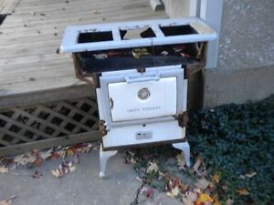 """""""HAPPY THOUGHT"""" VINTAGE 1920'S GAS STOVE $35"""