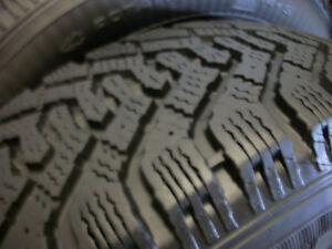 4 Goodyear Nordic Winter Tires215 65 16 / Steel Rims 5 x 114.3mm