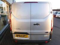 2015 Ford TRANSIT CUSTOM 310 LR SWB 100ps Van *SILVER* Manual Medium Van