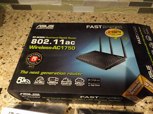 ASUS RT-AC66U Dual-Band Wireless-AC1750 Gigabit Router -